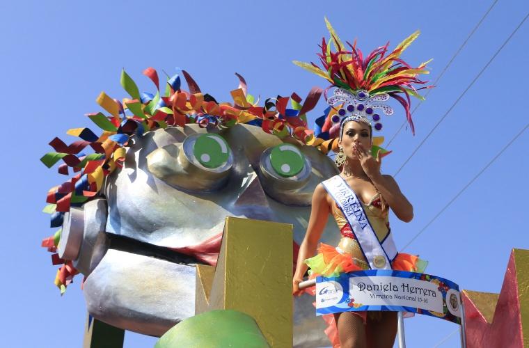 Ecología y mucha creatividad en el Carnaval de Barranquilla