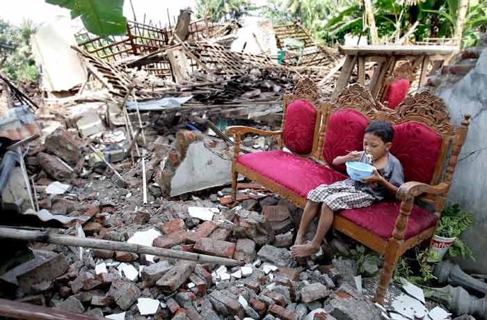 Resultado de imagem para terremoto na indonésia