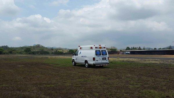 Dos heridos leves en accidente de avioneta en Calzada Larga - Crítica