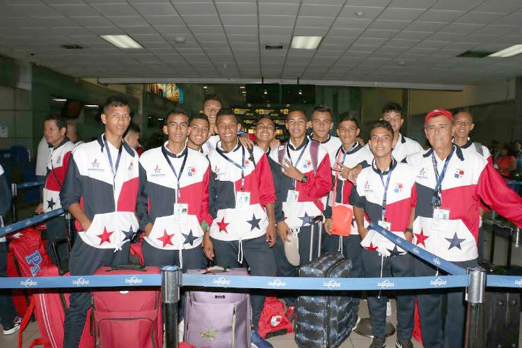 Delegación panameña viajó a Honduras para los Juegos CODICADER