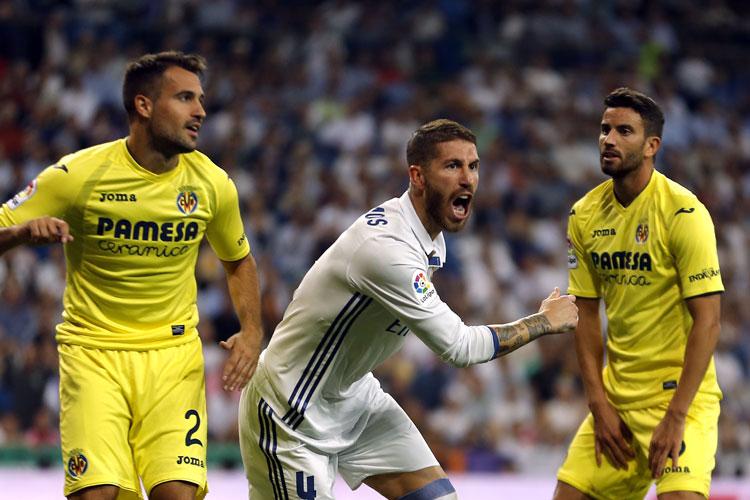 EN DIRECTO: Real Madrid y Villarreal están igualando en el Bernabéu