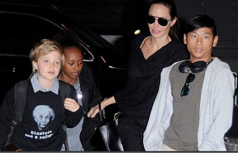 Brad Pitt solicita la custodia compartida de sus hijos