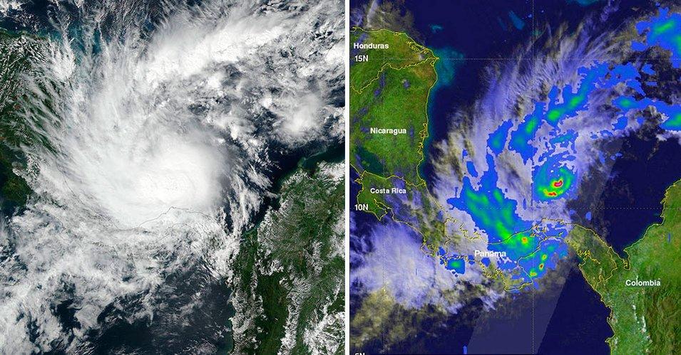 Nicaragua y Costa Rica declaran alerta preventiva por tormenta 'Otto'