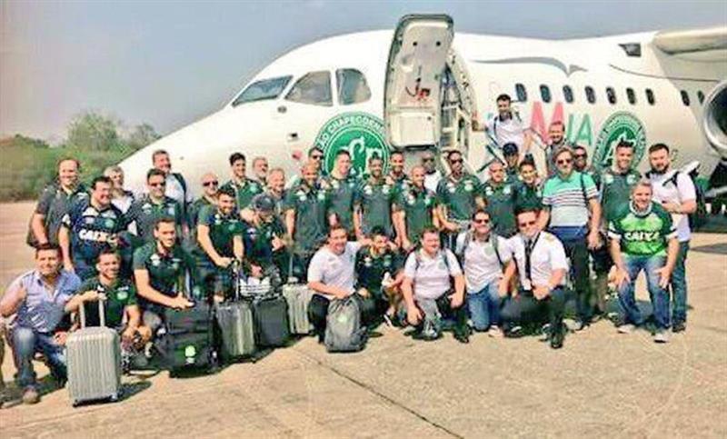 Así fueron los últimos minutos del avión accidentado con el equipo Chapecoense