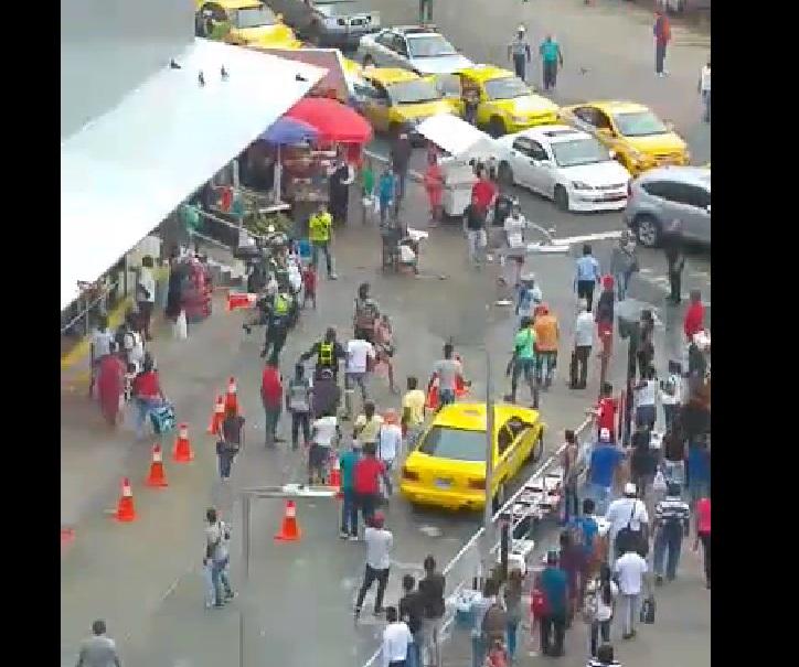 Video: Robo y huida. Sucedió en San Miguelito