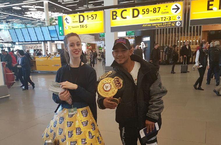 El Nica Concepción pierde el título mundial en la báscula