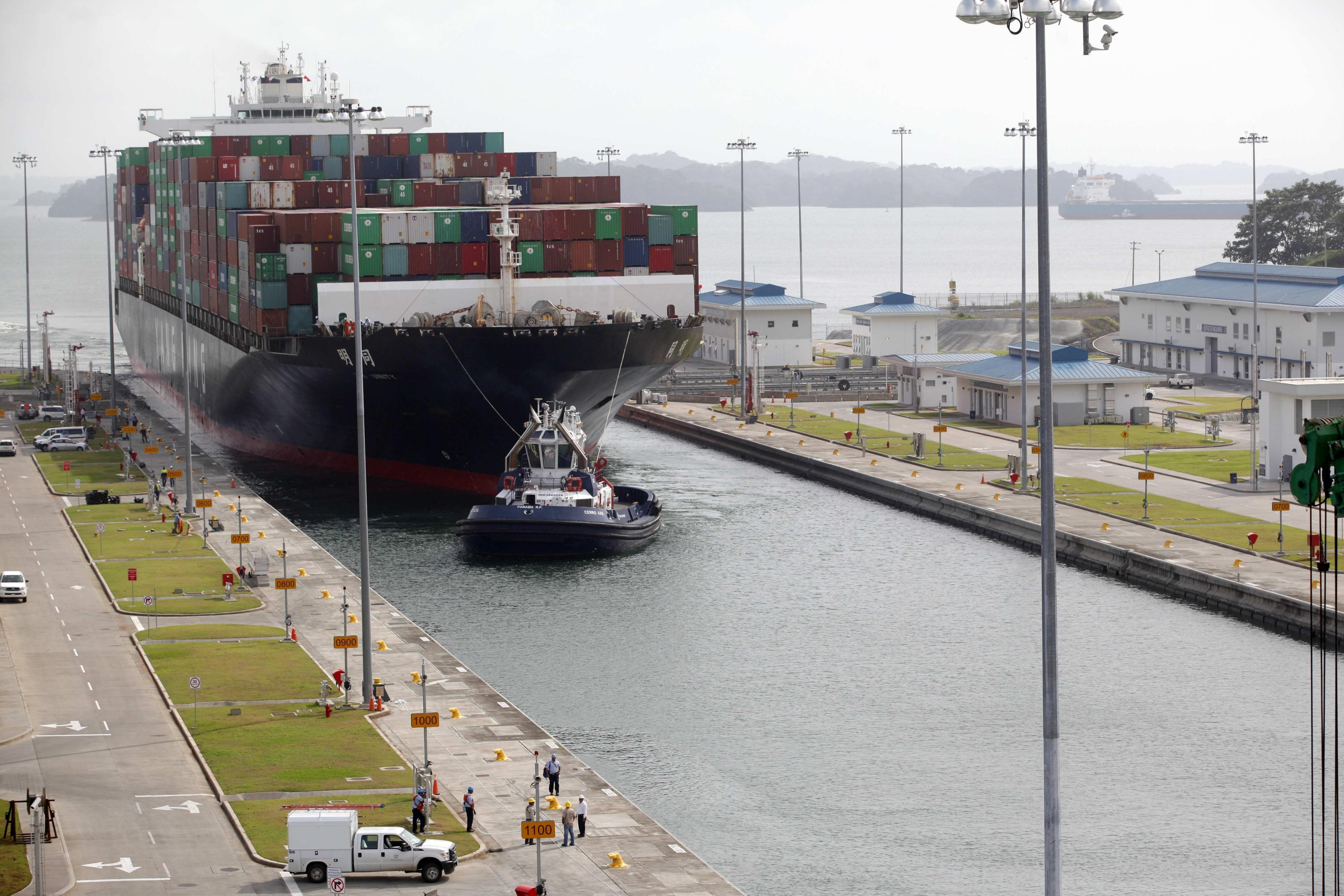 Buque MSC Anzu realiza tránsito 1000 por el Canal Ampliado