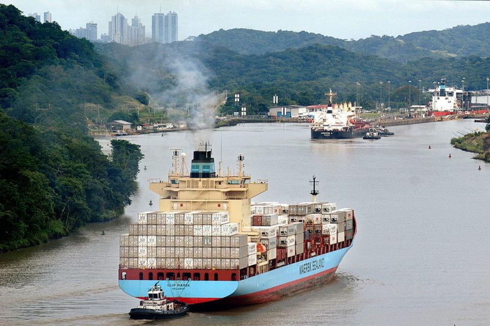 Submarino nuclear de EU cruzó el canal de Panamá