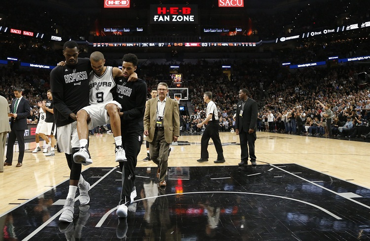 Los Spurs vencen a los Rockets sin Tony Parker
