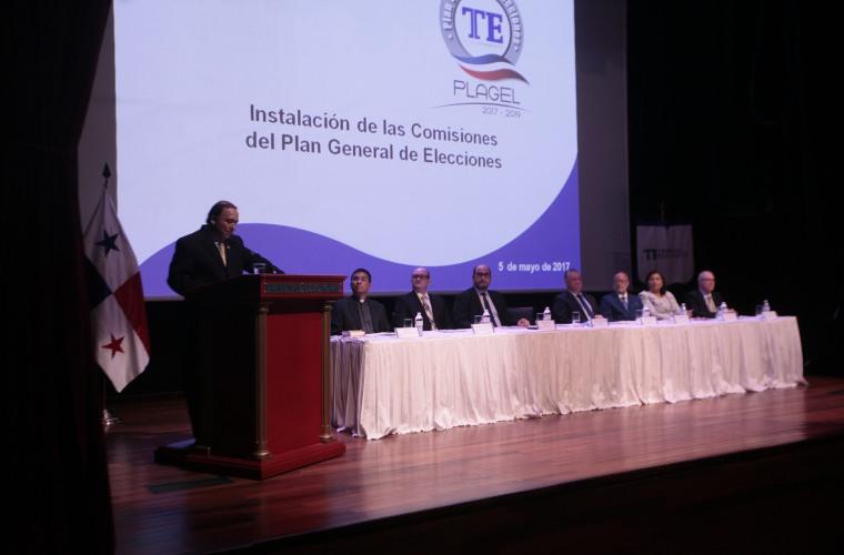 Instalan las comisiones del Plan General de Elecciones 2019 — PANAMÁ