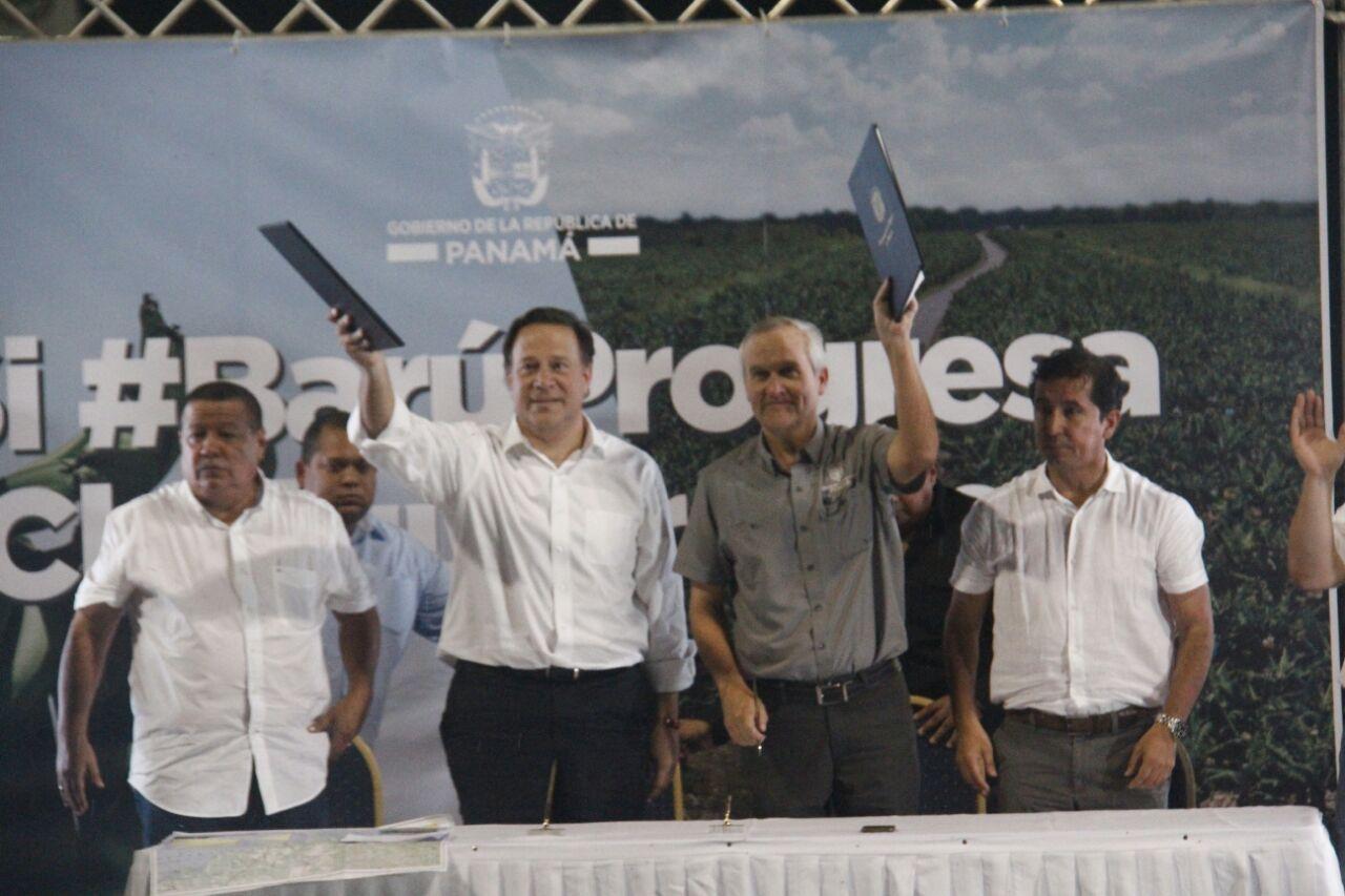 Presidente Varela sanciona contrato ley que reactiva zona bananera en Barú