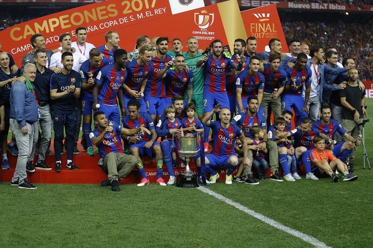 Barcelona conquista la Copa del Rey en adiós de Luis Enrique