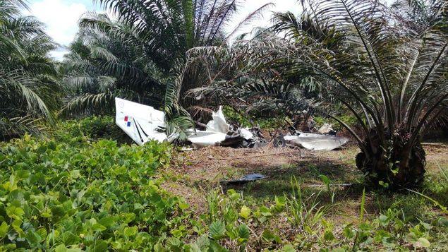 Hallan avioneta siniestrada con matrícula panameña en Costa Rica