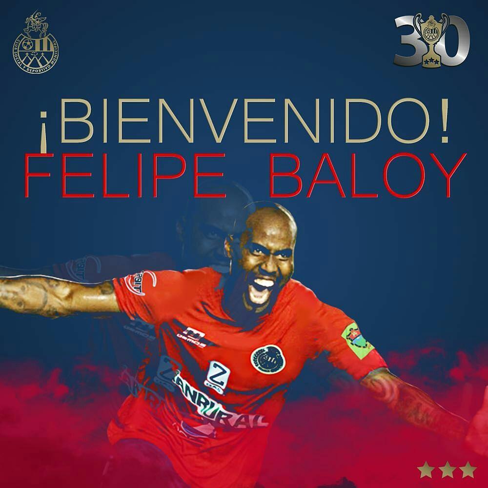 El central panameño Felipe Baloy ficha por el Municipal