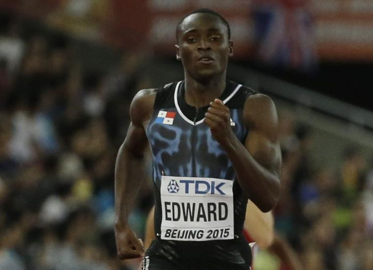 Séptimo en los 200 mts de Liga Diamante — Edward
