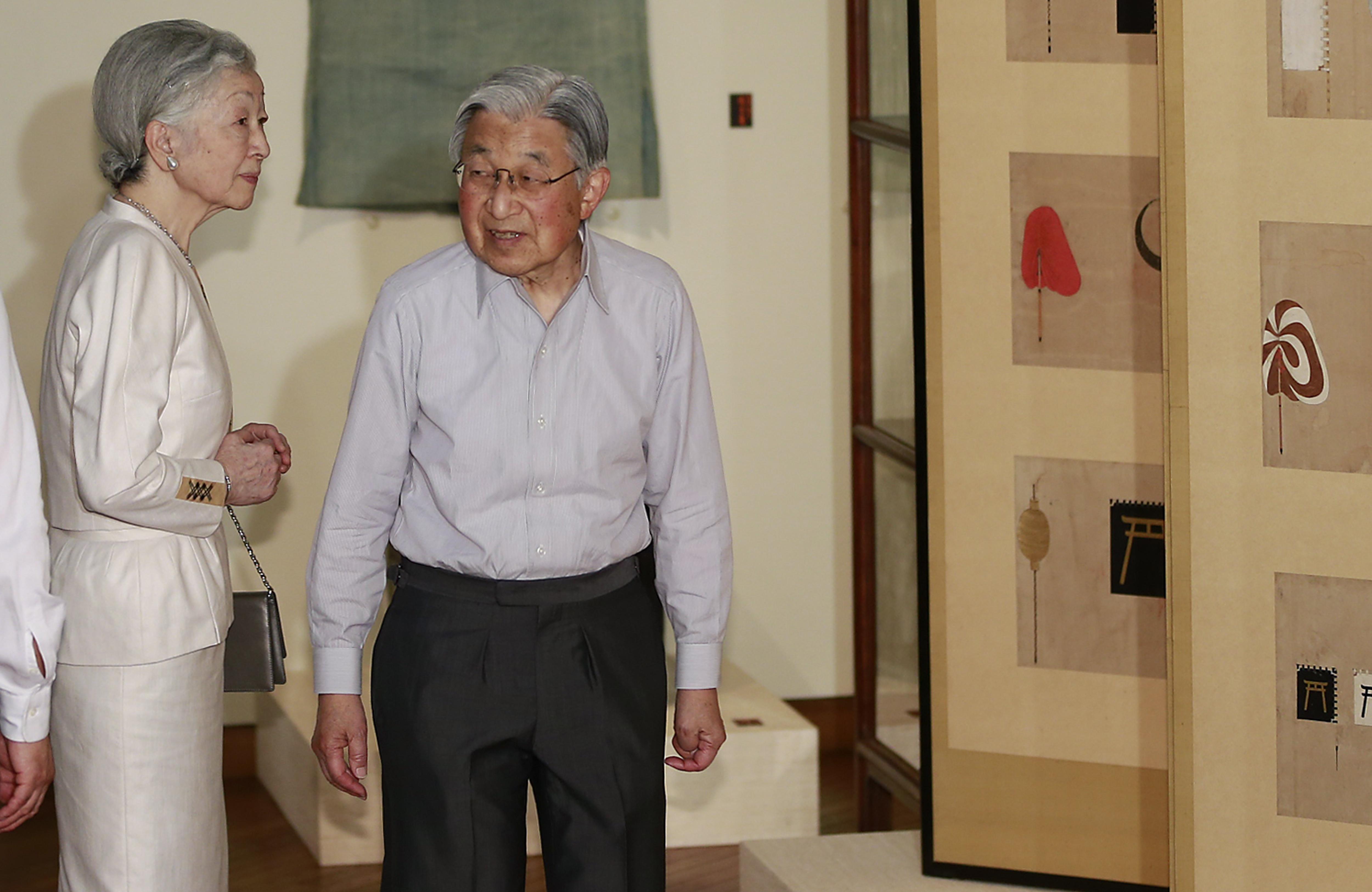 Japón promulga ley para la abdicación del Emperador Akihito