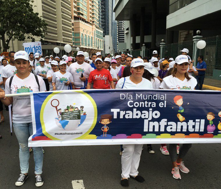Marchan contra el trabajo infantil