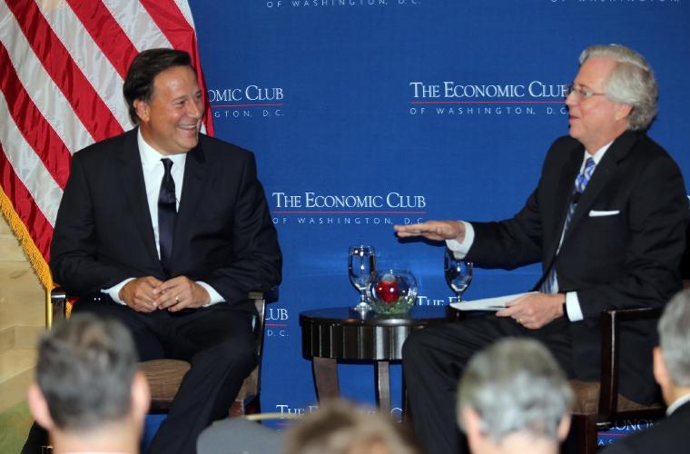 Presidente de Panamá se reúne con congresistas de EE.UU