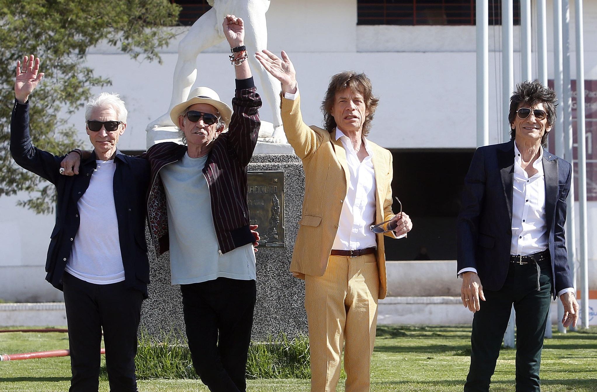 Inoxidables: The Rolling Stones preparan un nuevo disco de estudio