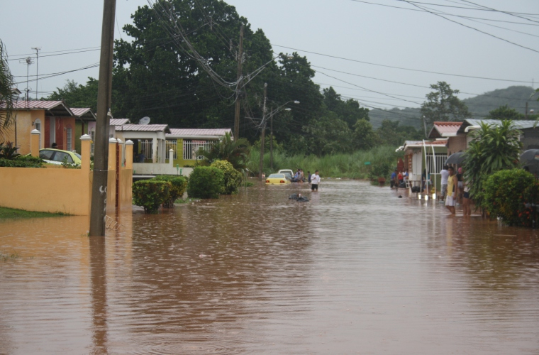 Al menos 187 casas afectadas en Panamá Oeste por la fuerte lluvia