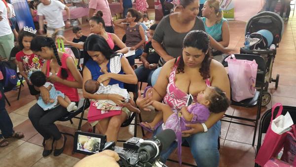 Filipinas realiza actividades por semana mundial de lactancia materna
