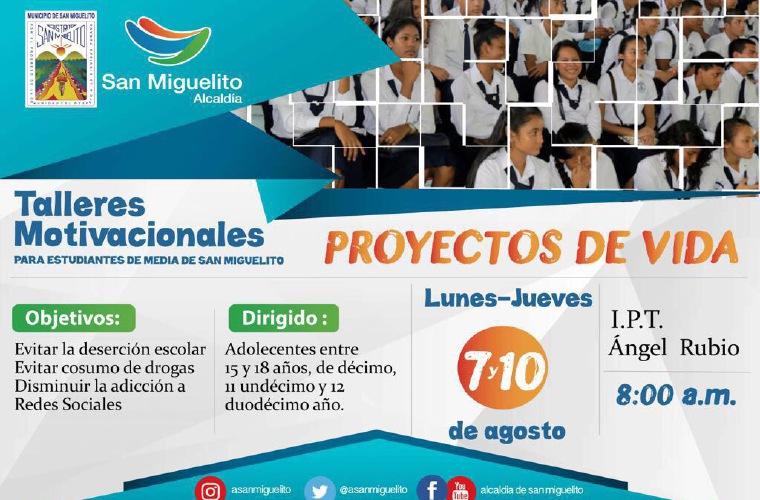 Alcaldía Inicia Talleres Para Jóvenes En Tres Colegios Critica