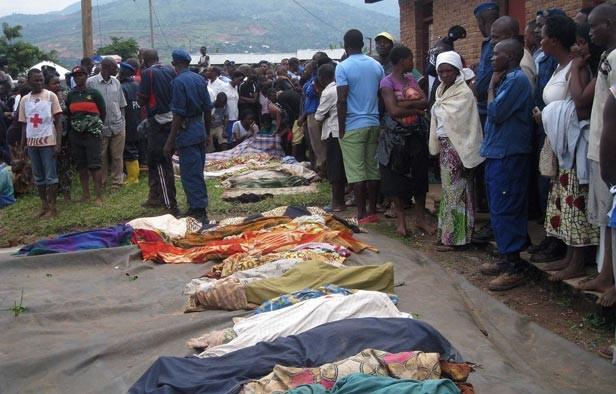 Mueren al menos 40 personas por deslave en el Congo