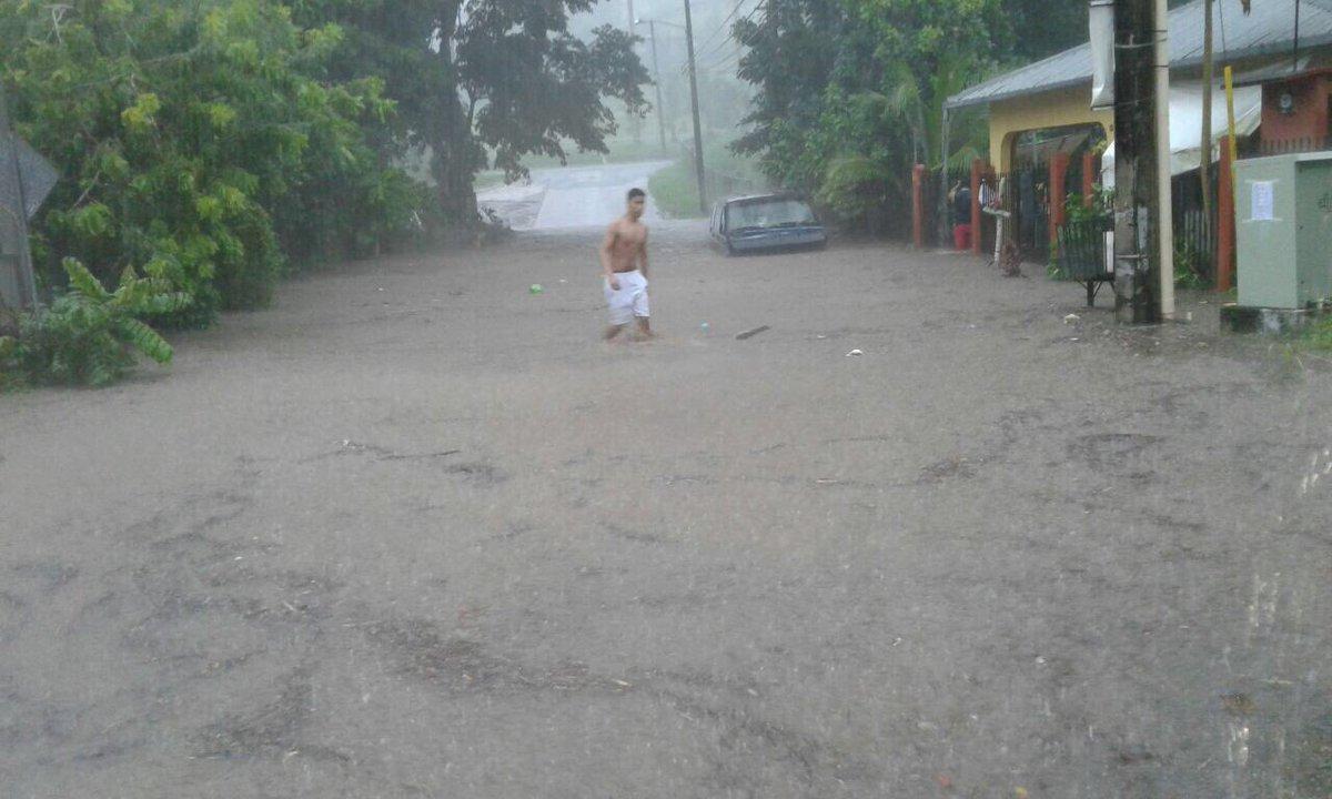 SINAPROC brinda asistencia a 25 residencias afectadas producto de fuertes lluvias