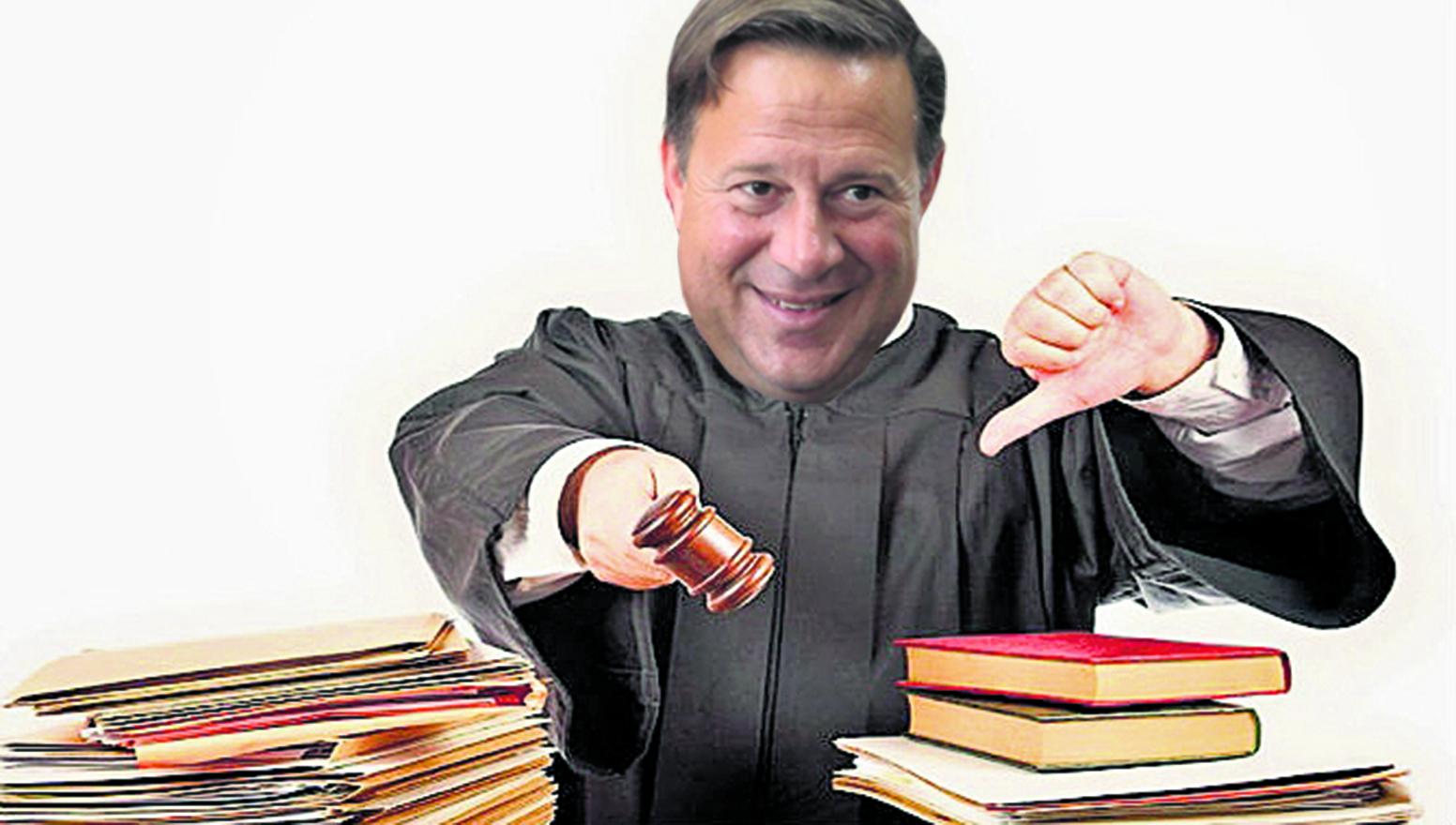 Varela advierte sobre irregularidades en justicia de su país — Panamá