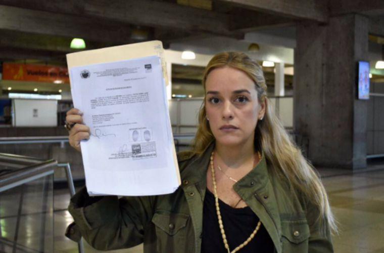 Gobierno de Maduro protestó contra 5 países que respaldaron a Lilian Tintori