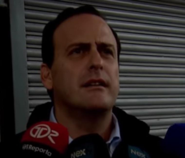 Francolini acude a fiscalía para rendir indagatoria en caso Odebrecht