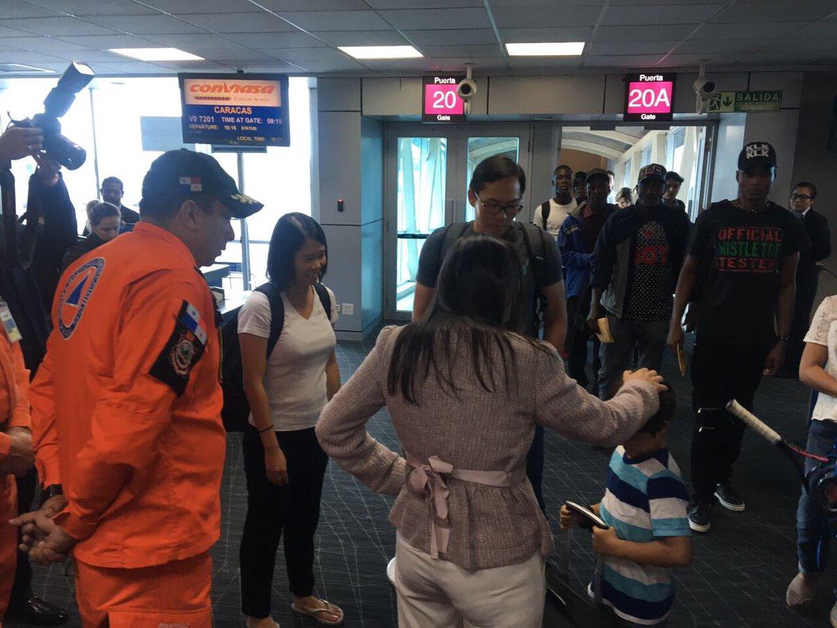 Llegan al país primeros panameños provenientes de islas afectadas por huracán Irma