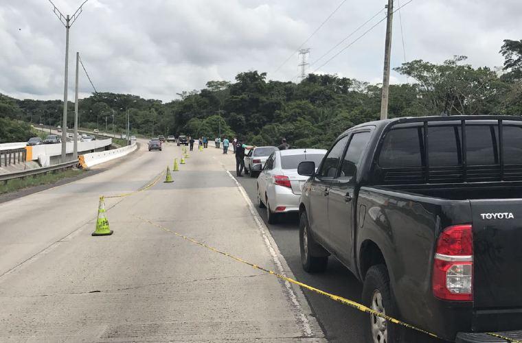 MP investiga hallazgo de un cuerpo desmembrado en la vía Centenario