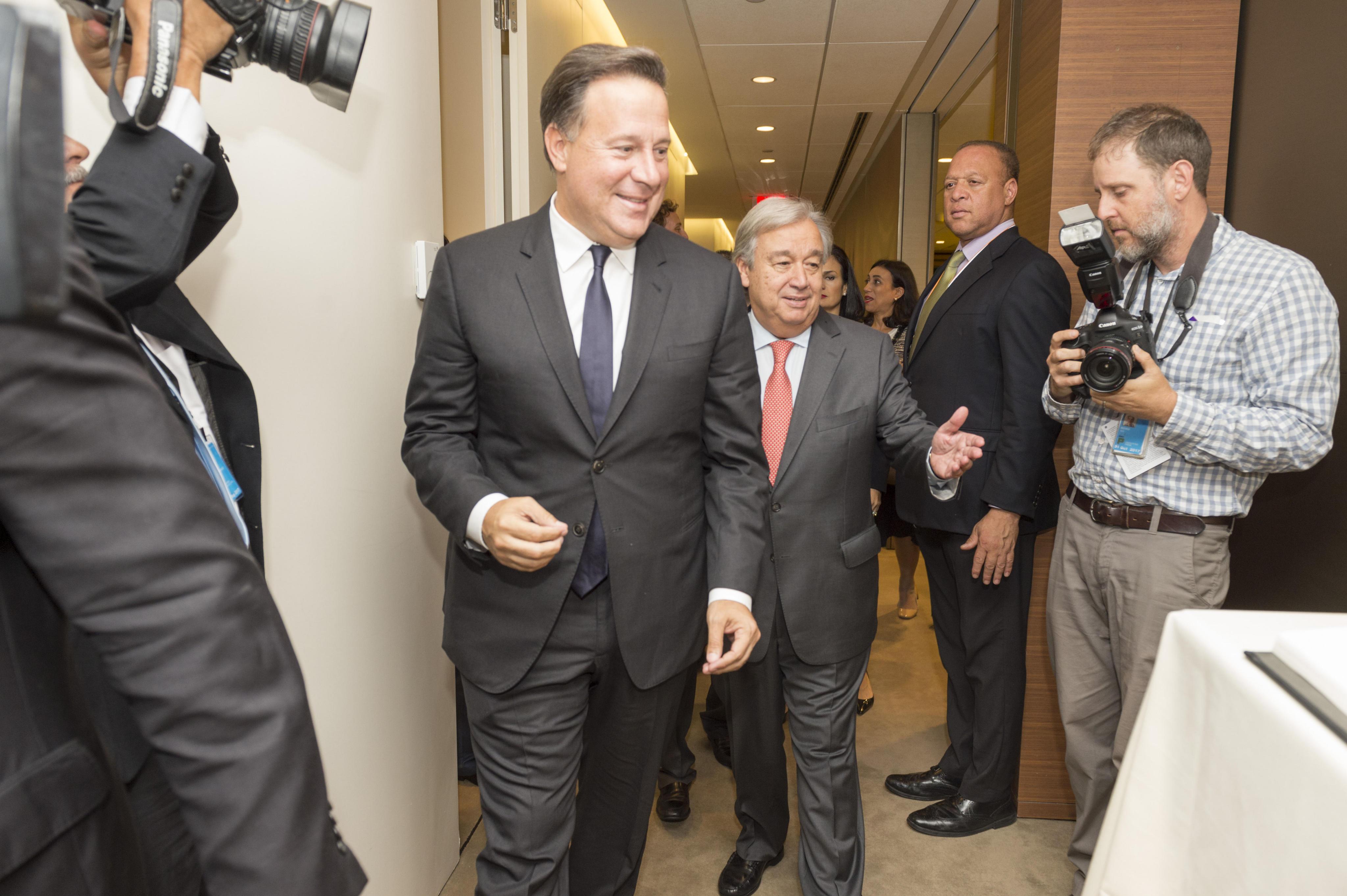 Presidente de Panamá: coordinaremos acciones para garantizar elecciones en Venezuela