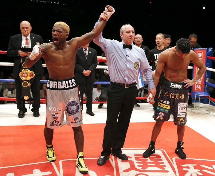 Boxeador panameño Jezreel Corrales pierde título en la báscula