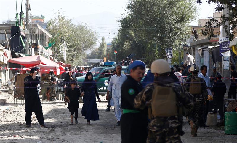 Una fuerte explosión sacude el barrio diplomático de Kabul