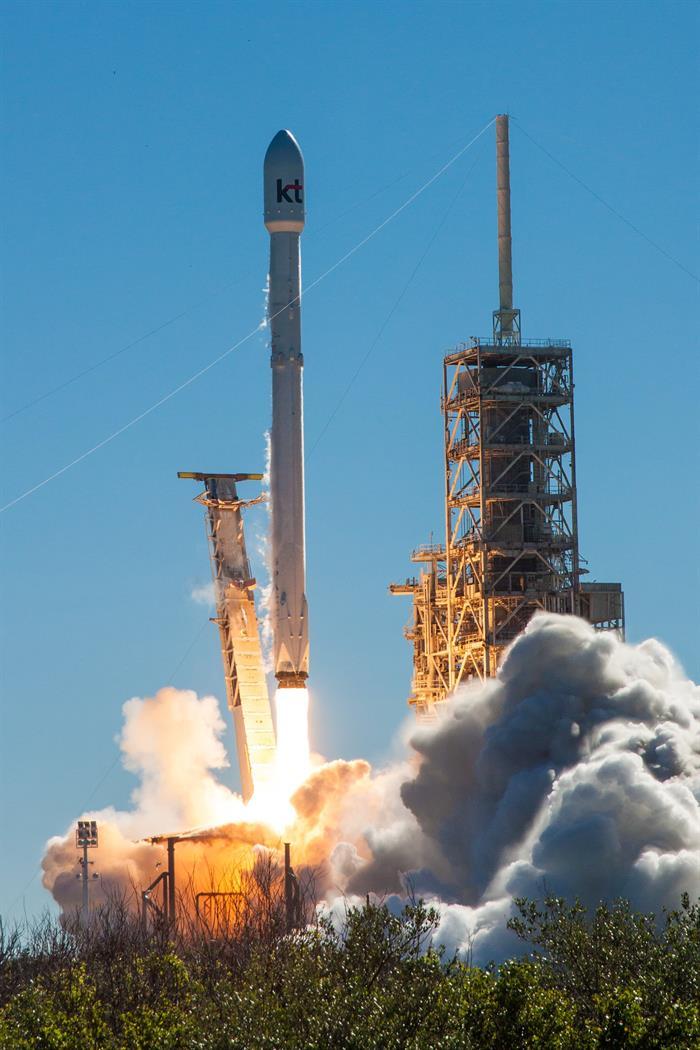 Un cohete de EE.UU. pone en órbita un satélite de comunicaciones para Corea del Sur