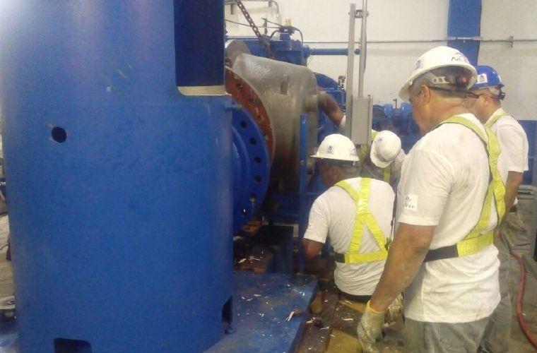 Avanzan trabajos en la planta potabilizadora Federico Guardia Conte en Chilibre