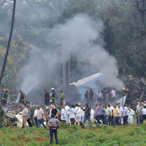 Autoridades de la isla dijeron que había 104 pasajeros, 5 tripulantes mexicanos y una persona más como técnico de mantenimiento.  Foto: @JoseRCabanas