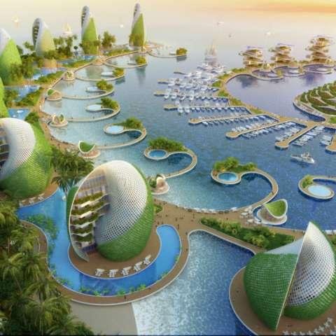 Vista infográfica del proyecto hotelero que se construirá en Filipinas.Foto: Vincent Callebaut Architectures, Paris
