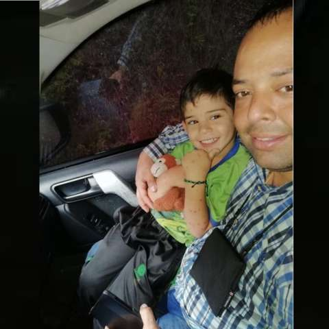 El hijo de cinco años del alcalde del municipio colombiano de El Carmen, Edwin Contreras, fue secuestrado el 3 de octubre, en el noreste del país por dos desconocidos que ingresaron armados al colegio en donde el menor estudia. Foto: Familia