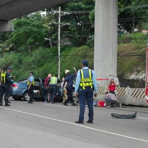 Por el momento no se reportaron víctims fatales.  /  Foto: @SIMINGOB