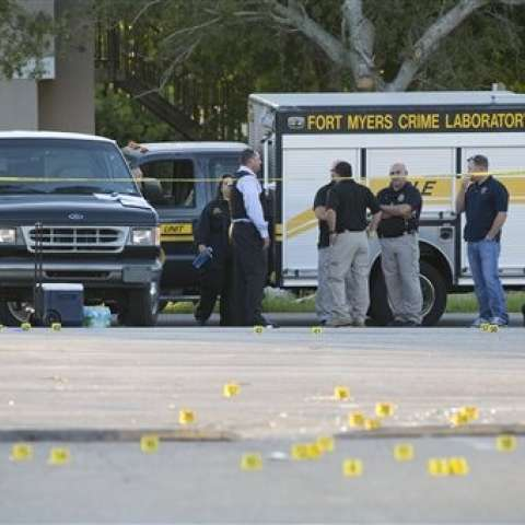 Los disparos comenzaron en torno a las 00:30 del lunes.  / Foto: AP