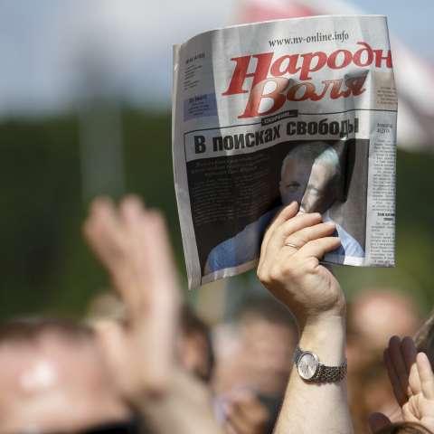 Por ahora se ha detenido a cinco periodistas para interrogarlos.  /  Foto: AP Archivo