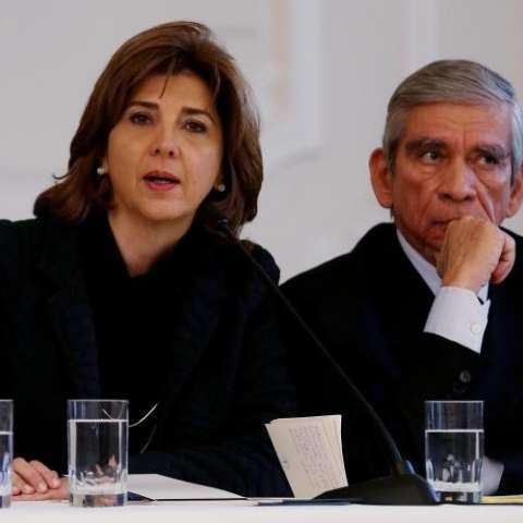 María Ángela Holguín. FOTO EFE