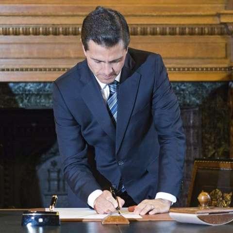 El presidente mexicano, Enrique Peña Nieto.  /  Foto: EFE Archivo