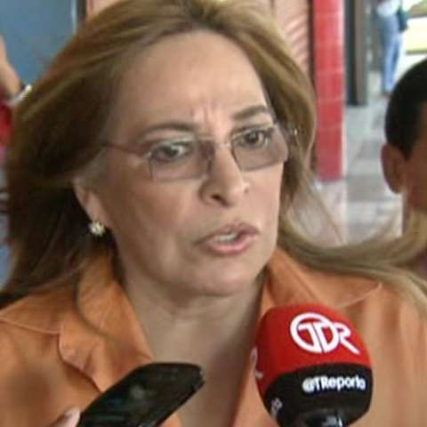 Excandidata presidencial del PRD, Balbina Herrera.