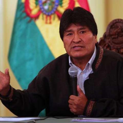 Presidente boliviano Evo Morales. FOTO EFE