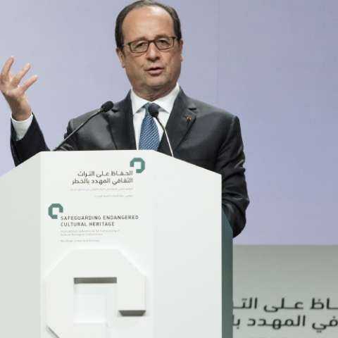 Presidente francés François Hollande. FOTO AP