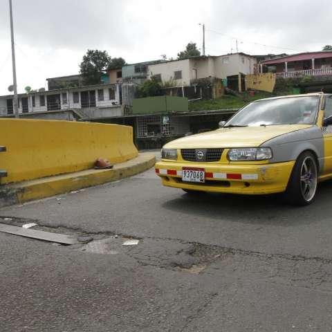 Puente vehicular de Paraíso.  /  Foto: Edwards Santos